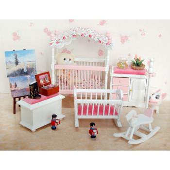 Детская комната для кукольного дома 1:12