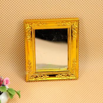Зеркало настенное для кукольного дома Миниатюра 1:12