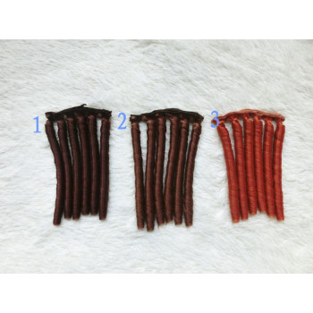 Трессы для кукол 15 см 6 локонов BJD