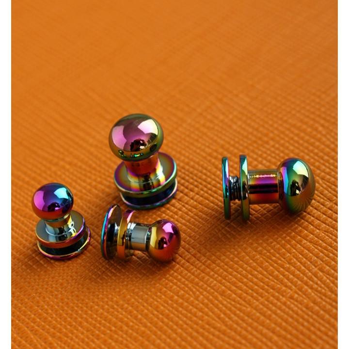 Кнопки кобурные для кожаных изделий Хамелеон