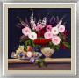 Набор для вышивки лентами Голландский натюрморт с цветами и фруктами