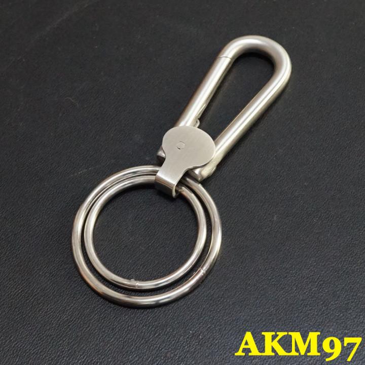 Карабин металлический с кольцами Сталь, АКМ-97