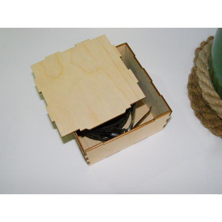 Коробка подарочная для ремня, крышка съемная