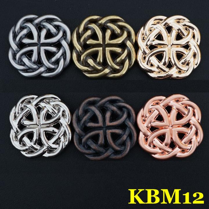 Кончо для кожаных изделий KBM12