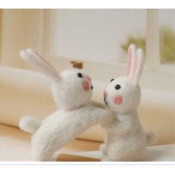 Набор для валяния Два зайчика