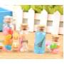Стеклянные бутылочки с пробкой 2 см