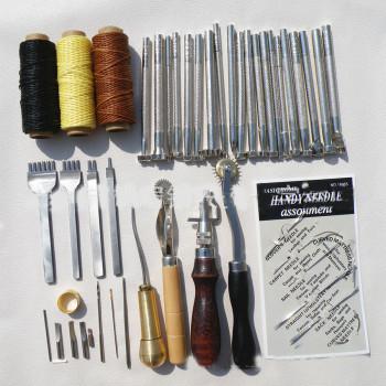 Набор инструментов №2 для работы с кожей