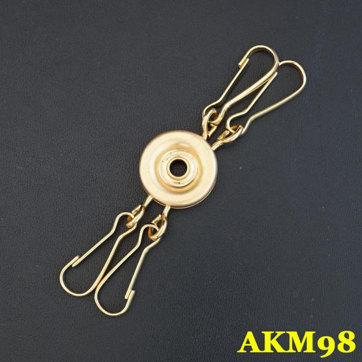 Заготовка для ключницы круглая  Брелок  АКМ98