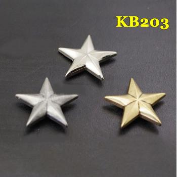 Кончо для кожаных изделий Звезда KB203