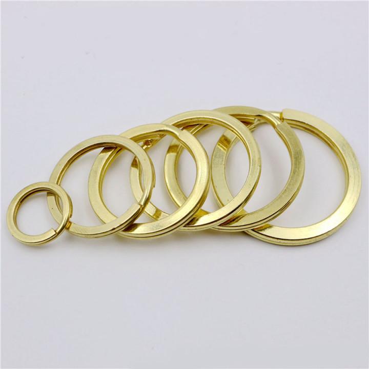 Кольцо 10-35 мм латунь Плоское