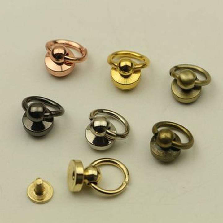 Кнопки кобурные с кольцом арт 1342