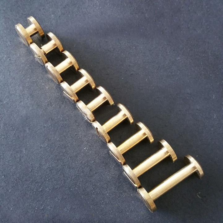 Винт ременной d=10 мм плоский, 4-20 мм,  Латунь
