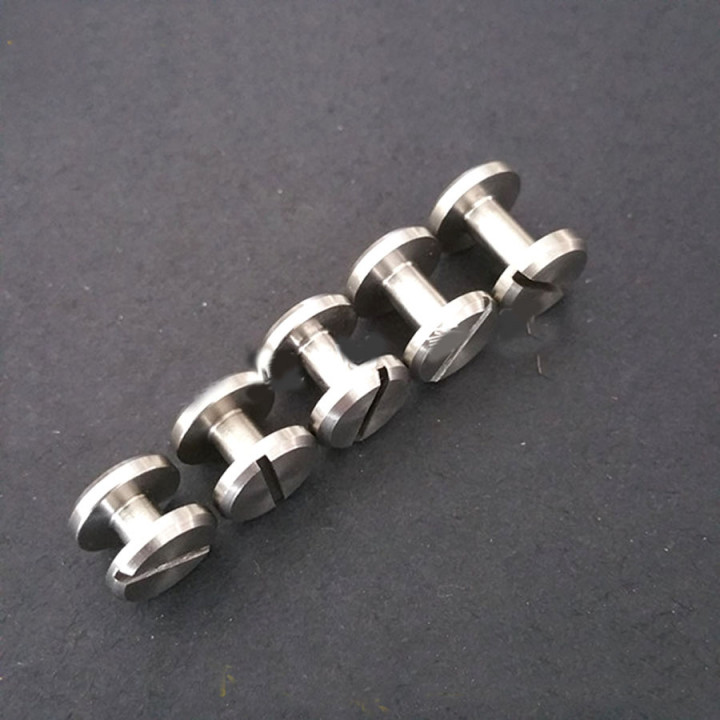 Винт ременной d=10 мм плоский сталь
