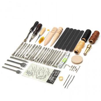 Набор инструментов для работы с кожей 59 предметов