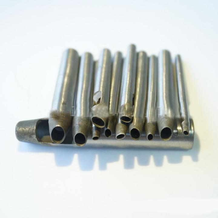 Пробойники овальные 3-30 мм