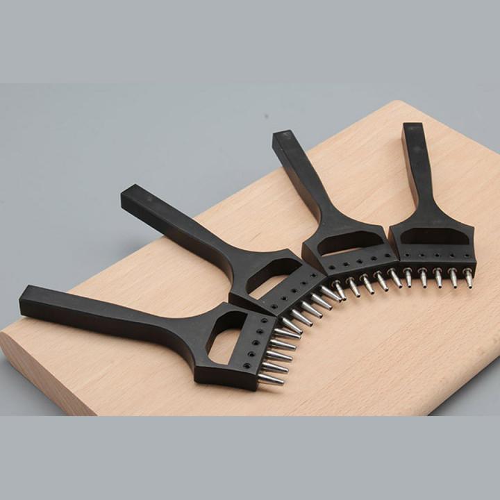 Пробойник для часовых ремешков со сменными зубьями, 1,2 - 2 мм