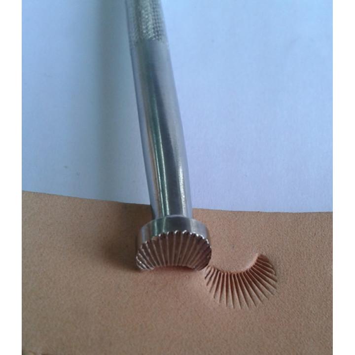 Штамп для тиснения по коже C-431, углеродистая сталь