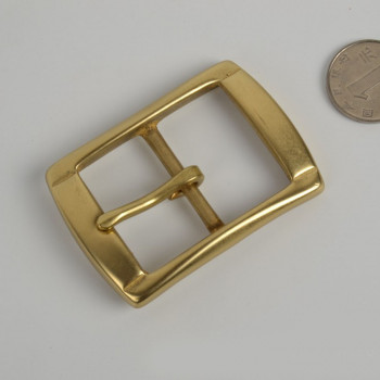 Пряжка для ремня 35 мм латунная SB35-4