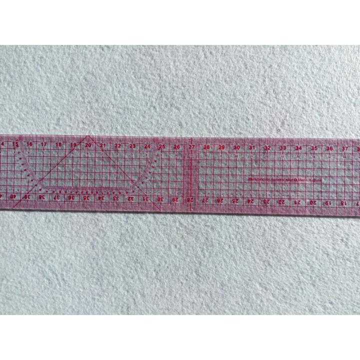 Линейка метрическая 55 см