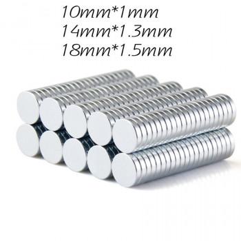 Магнит фурнитурный 10-18 мм