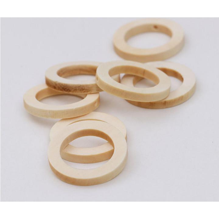 Кольцо деревянное плоское 30 мм