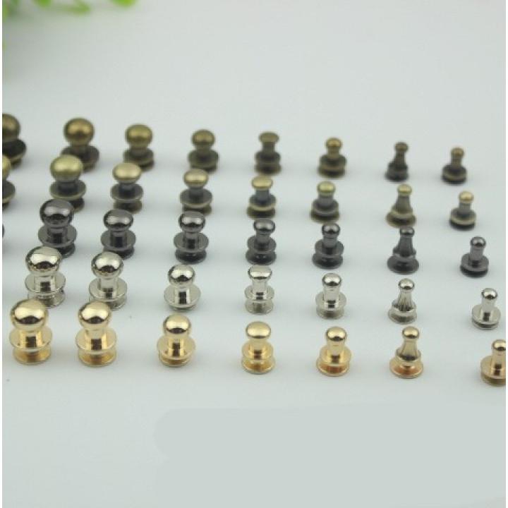 Кнопки кобурные для кожаных изделий, арт. KK-100