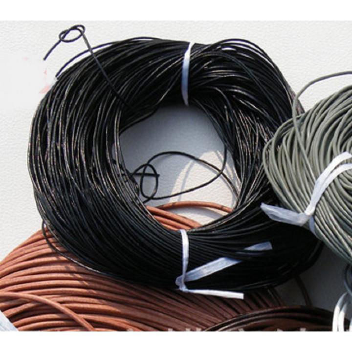 Шнур кожаный 2,5 мм