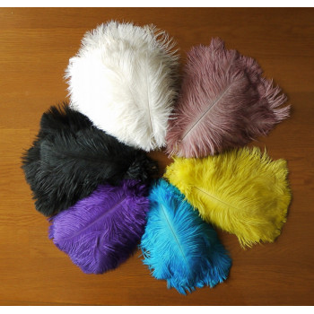Перо страуса 15-20 см
