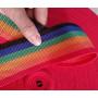 Лента ременная 32 мм разноцветная пэ