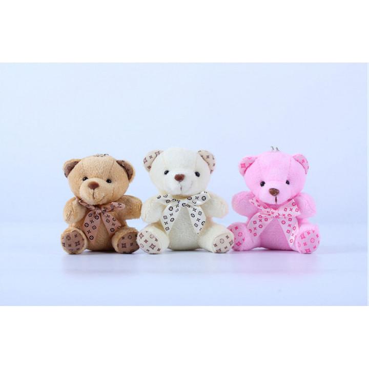 Мишки сидящие для кукол 10 см