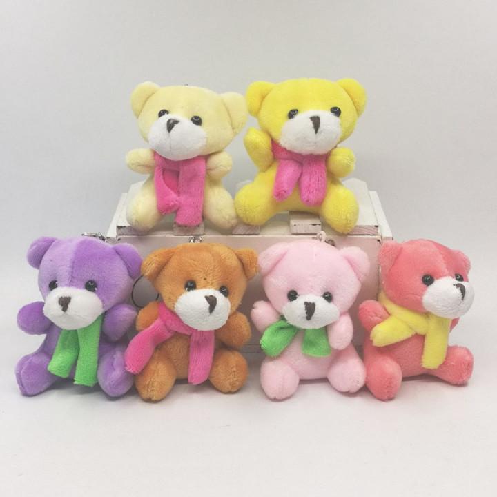 Мишки сидящие для кукол 7 см