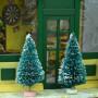 Мини-елочки для кукольного дома