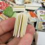 Книги бумажные для кукольного дома поштучно