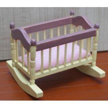 Кровать-качалка детская для кукол