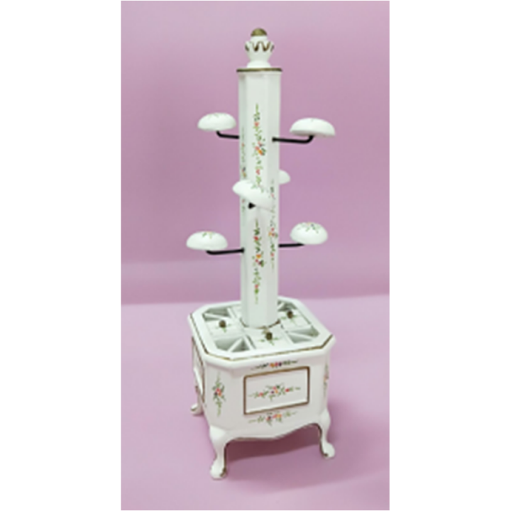Миниатюра для кукол Подставка для гардеробной комнаты