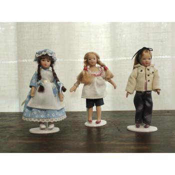 Куклы девочки 1:12 для румбоксов