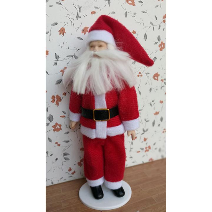 Кукла Санта-Клаус Миниатюра 1:12