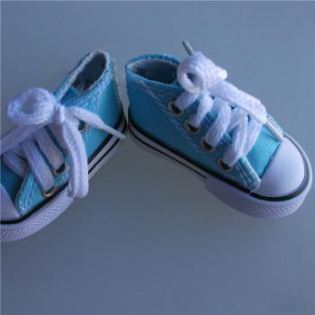 Кеды для куклы на шнурочках 3,5 см