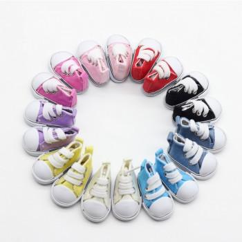 Кеды для куклы на шнурочках 5 см