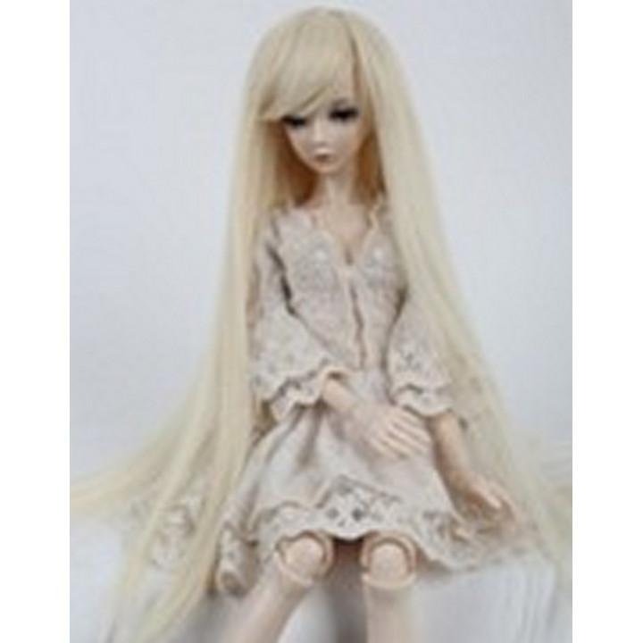 Парик для кукол длинный FBE007А блонд размер А