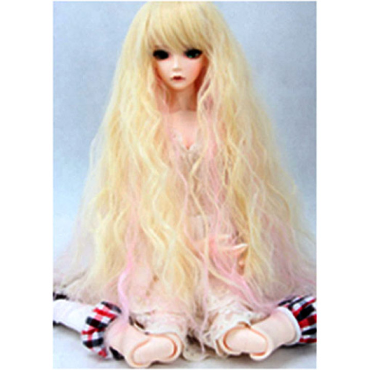 Парик для кукол длинный FBE023А цвет 2317#88 размер А