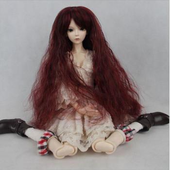 Парик для кукол длинный HD127А цвет 1#113 размер А