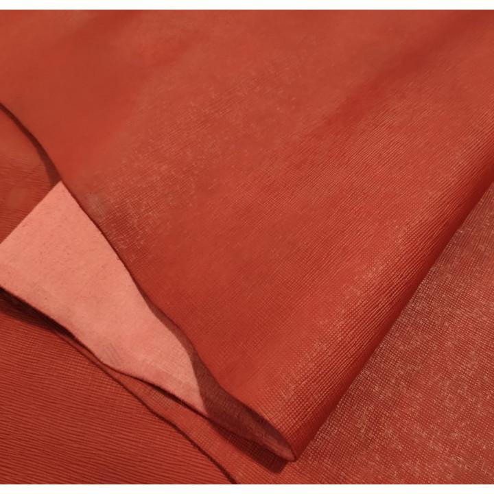 Кожа Сафьяно 1,8 мм раст. дубл. Красный Италия
