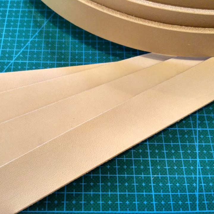 Заготовка ременная 25 мм толщ. 3,5 мм Растишка