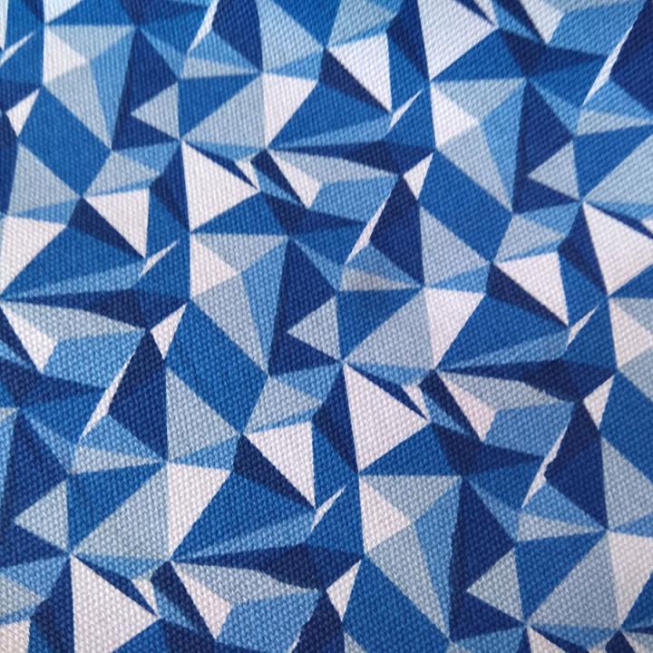 Канвас 320 г 0,5м DIAMOND blue