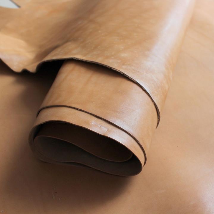 Кожа краст цвет Песочный 1,2-1,4 мм