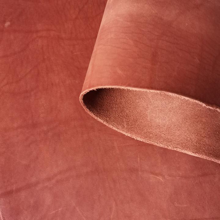 Кожа Пола краст 3,0-3,2 мм Рыже-коричневый
