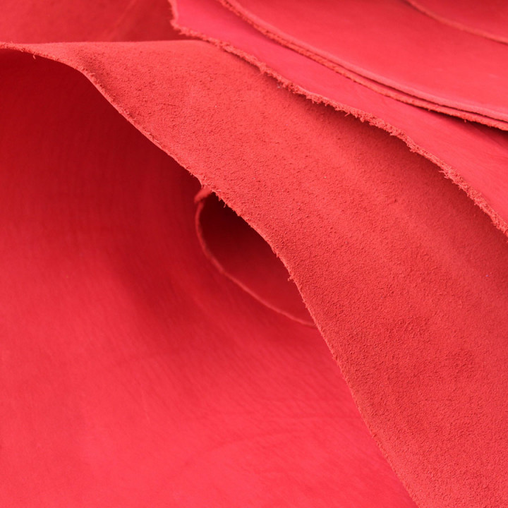 Кожа Пола краст 2,1-2,5 мм Красный