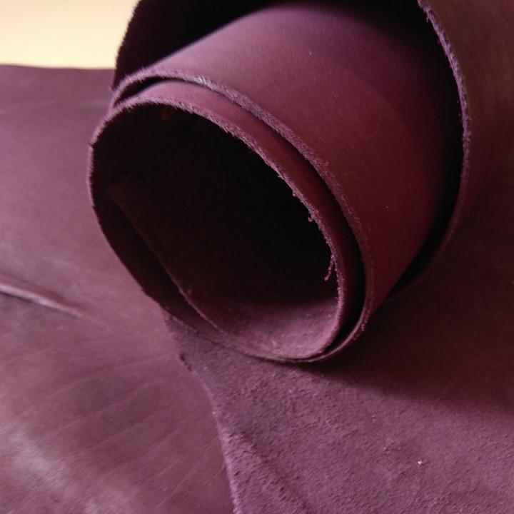 Кожа Пола краст 1,1-1,3 мм Баклажан