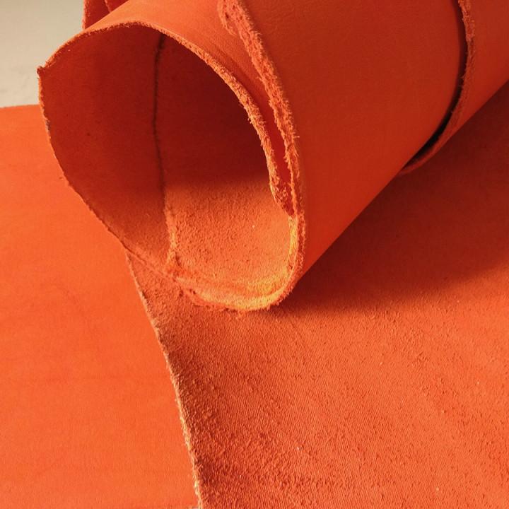 Кожа Пола краст 2,1-2,5 мм Оранжевый